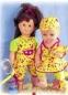 В нашем доме все куклы при одежде, так что это всё - заказы. .  Для каждой куклы выкройка строилась отдельно, и это...