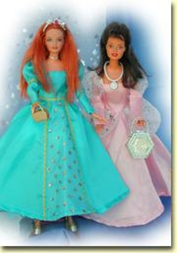 Barbie Schnittmuster: 2 x Prinzessin