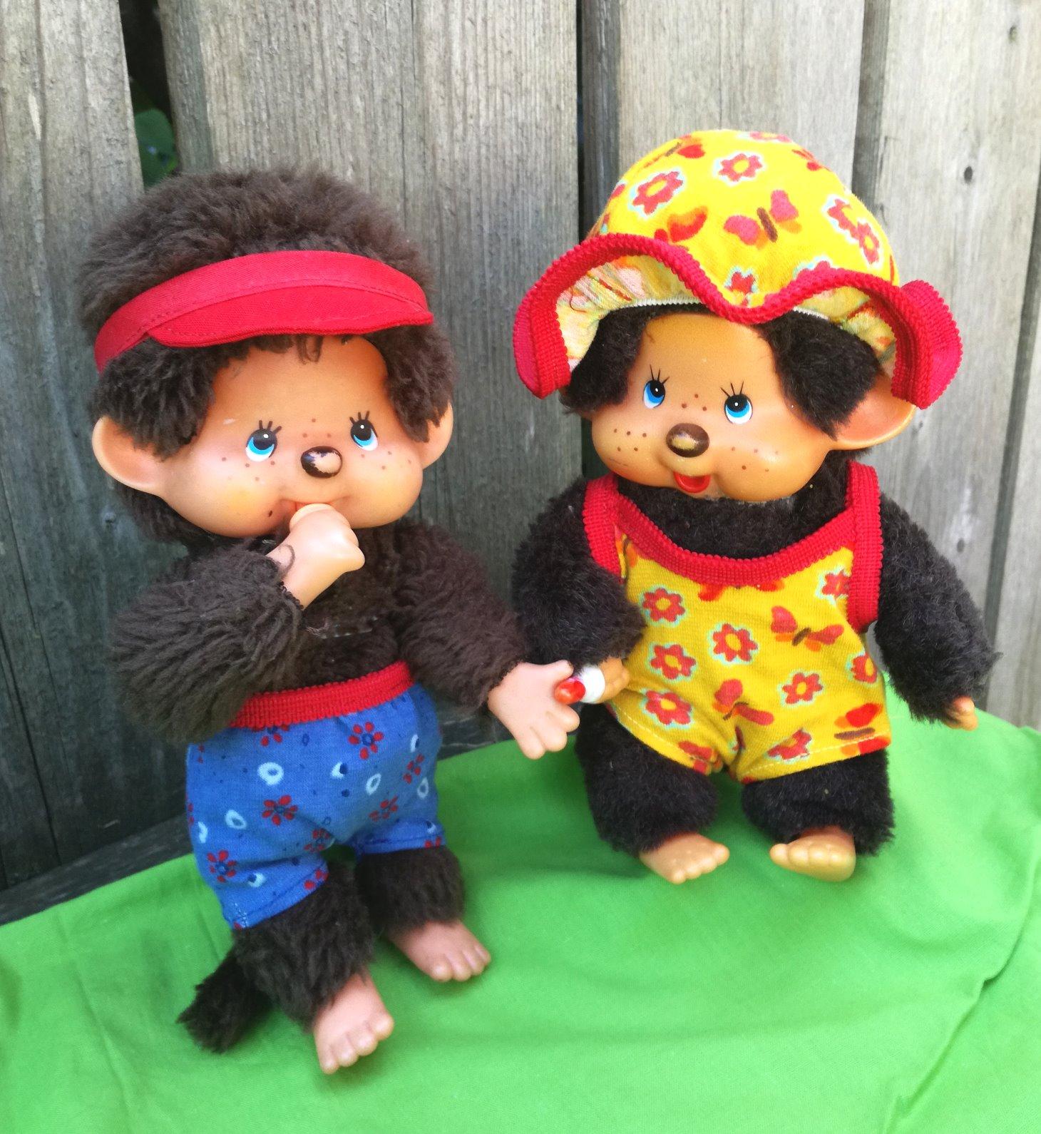Puppen-Schnittmuster - Schnitt für Monchichi: Badeanzug mit ...