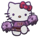 "Applikation ""Hello Kitty lila"""