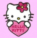"Applikation ""Hello Kitty mit Herz"""